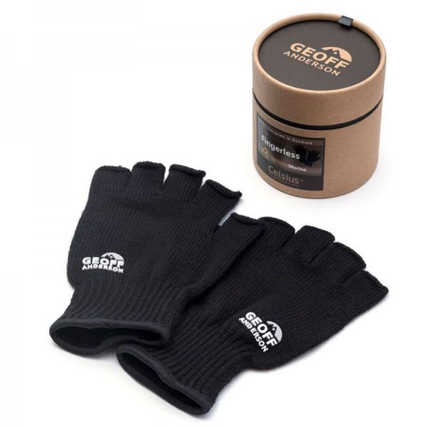 Geoff Anderson Technical Merino Handschuhe, fingerlos